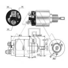 起动机电磁开关9-330-081-064 ZF 971