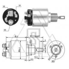 起动机电磁开关9-330-081-061 ZF 871