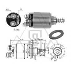 起动机电磁开关0-331-401-011 ZF 4-744