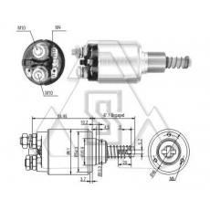 起动机电磁开关 0-331-402-021