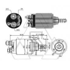 起动机电磁开关0-331-402-002