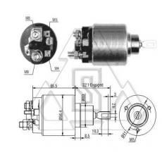 起动机电磁开关0-331-303-530