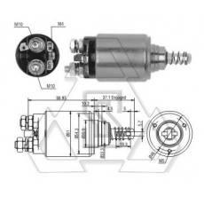 起动机电磁开关0-331-401-040