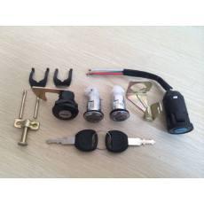 OH-022大头四锁 电动车锁具