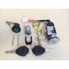 OH-043吉兹三锁 电动车锁具