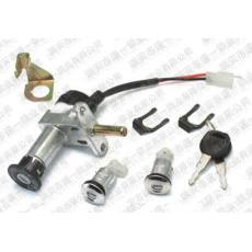 SY-009 君威三锁 电动车锁 电动车套锁