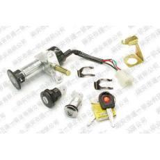 SY-016 天使三锁 电动车锁 电动车套锁