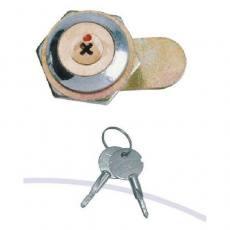 MS403铜芯十字锁 转舌锁