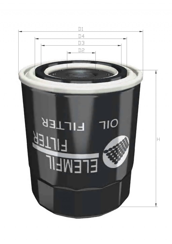 DOJ113 机油滤清器