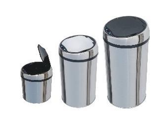 感应式不锈钢垃圾桶