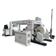 淋膜纸分切机,牛皮纸分切机,框架式全自动电脑高速分切机-浙江高宝机械