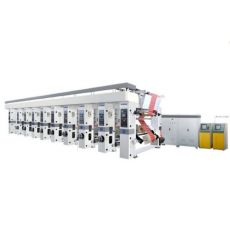 ZXAY-C系列电脑套色凹版印刷机 可选配:三电机、七电机