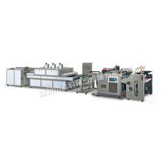 全自动UV(局部)网版印刷机生产线