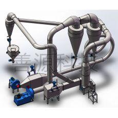 两级涡旋气流干燥设备