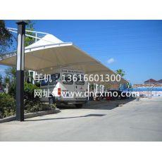 车棚、膜结构停车棚040
