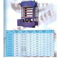 Y33系列四柱平板硫化機