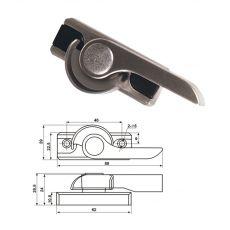 专利月牙锁(C)