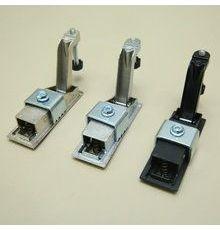 MS708镀镍黄色机械门锁 电柜锁具 成套柜锁