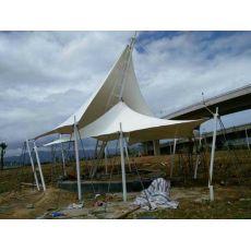 施工棚 膜结构景观棚
