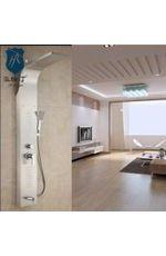 304不锈钢淋浴屏 多功能豪华按摩淋浴花洒套