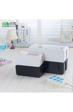 家居 日用百货日系集线盒电源插座收纳盒电线整理塑料盒