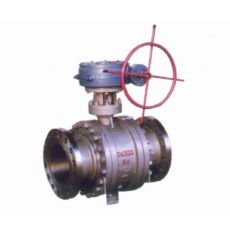 Q347型蜗轮传动固定球阀