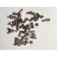 qile600_不锈钢 半空心铆钉 不锈纲铆钉 子母对装 非标定做