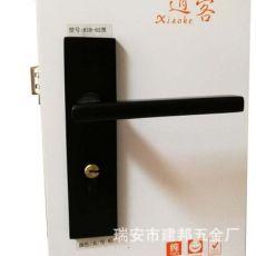 分体执手锁太空铝室内门锁五金锁具621-35