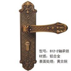 铝合金室内门锁执手锁古典室内门锁五金锁具801-2
