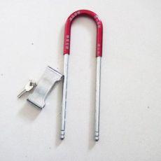 玻璃门防盗锁 电U型动车摩托车锁,自行车三轮车锁 钢丝锁 2008