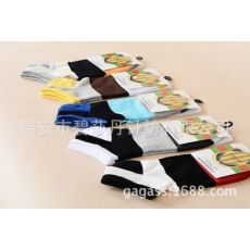 纳米银抗菌防臭袜有香味条纹女袜子