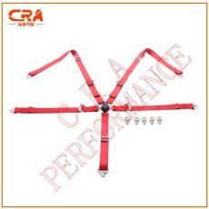 2寸5点高强度涤纶织带快拆快放汽车安全带 赛车安全带 改装安全带