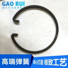 扁丝大双层卡圈 挡圈 卡簧 来样来图定制各种弹簧加工