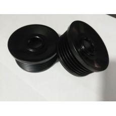 国产汽车比亚迪F3 G3 L3汽车发电机皮带轮 皮带盘 外表黑色5槽