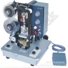 HP-241电动色带打码机 自动色带印字机,平面纸张生产日期打印