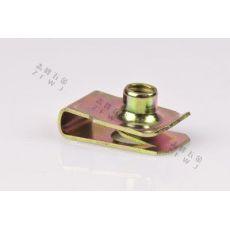 不锈钢非标准紧固件U型弹性卡簧片螺母丝帽锁环平垫圈圆柱