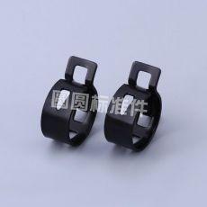 发黑卡箍20-12-1.2 外形精致标准多规格金属卡箍