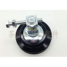 挖掘机配件 适用于斗山60 空调皮带轮 涨紧轮