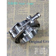 快装/速放-V型卡箍+平面法兰/V-band clamp /2.5英寸-6.0英寸