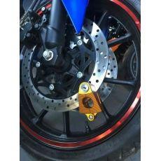 CNC改装配件 摩托车锁 三角型 电动摩托车防盗锁 碟刹锁 头盔锁
