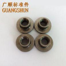 齐发娱乐官方网站_英制T型三点焊接螺母7/16-20UNF-2B 汽车安全带焊接螺母