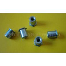 铁镀蓝白锌BSO压铆螺母柱 盲孔压铆螺柱BSO-M3-7 非标定做
