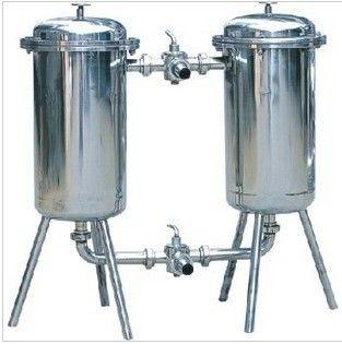 5t果汁 糖液 鲜奶 饮料双联过滤器 双联过滤机