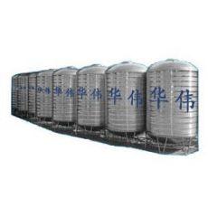 0.5吨-100吨-不锈钢水塔