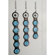 西蒙国标最新款两米线长百变智能 五位五孔排插