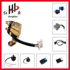 电瓶车 踏板车 摩托车 配件 启动 继电器 GSR125,RC80