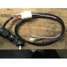 风冷柴油发电机170F178F186连接线电启动钥匙开关点火锁