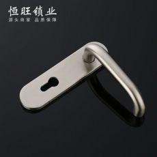多规格不锈钢门锁弯管系列S02-102SS 卧室门锁机械门锁面板锁