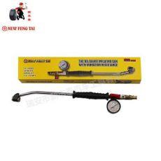 汽车弯头加长充气量压表车用测量仪补胎工具