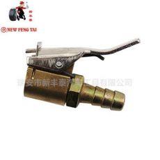 汽车轮胎气门嘴充气夹头 气动接头 气动泵转换接头7mm